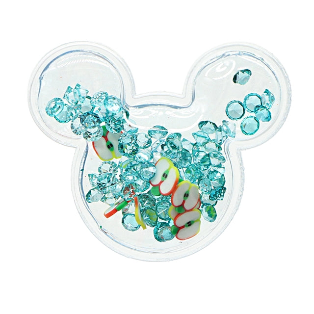 PVC Mouse Head Shaker Applique