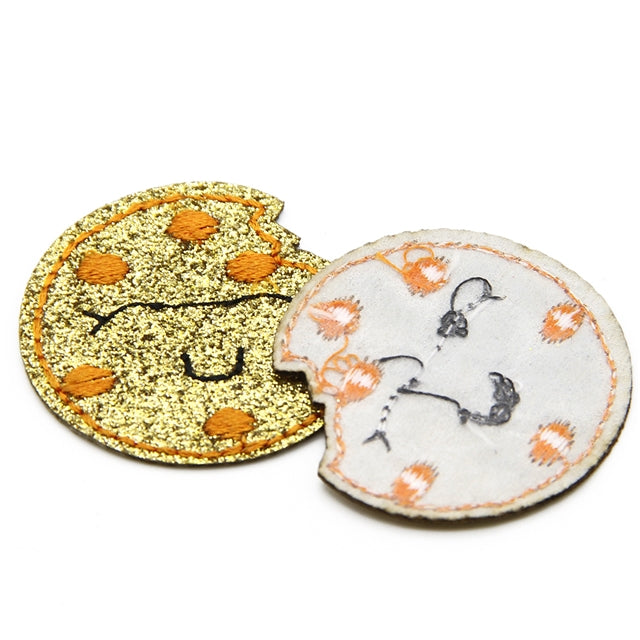 Cookie Faux Leather Patch