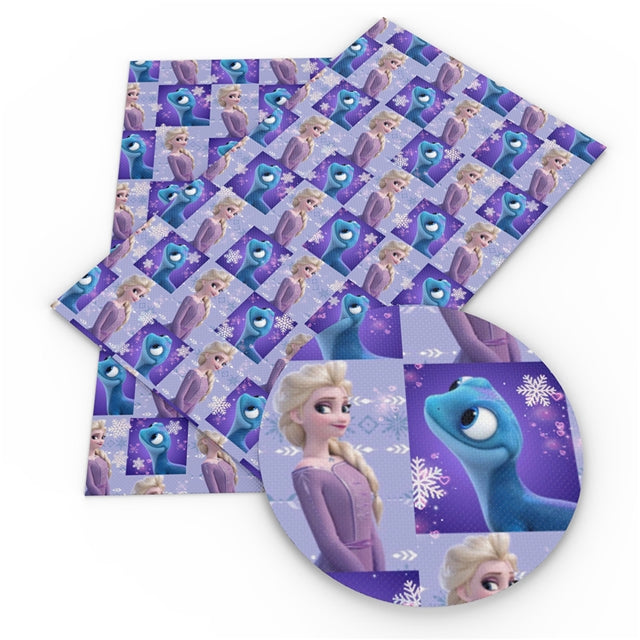 Purple Ice Queen Sheet