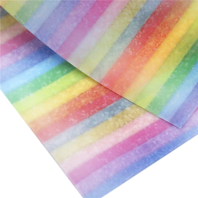 Rainbow Stripes Jelly Sheet