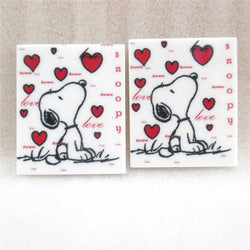 Valentine's Day Dog Planar Resin