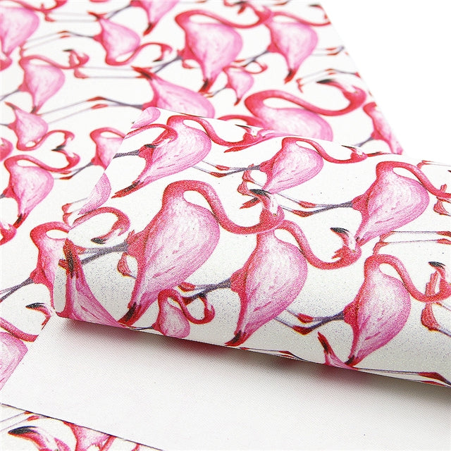 Flamingo Fine Glitter Sheet