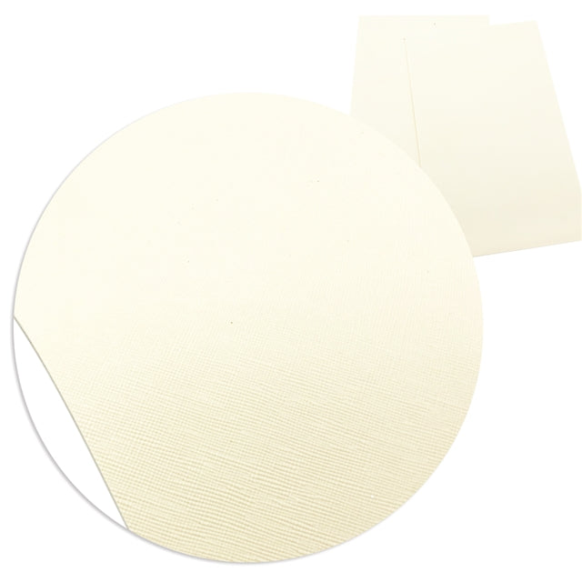 Solid Beige Faux Leather Sheet
