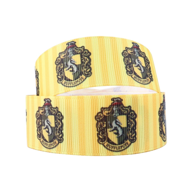 "1"" Hufflepuff Stripes Ribbon"