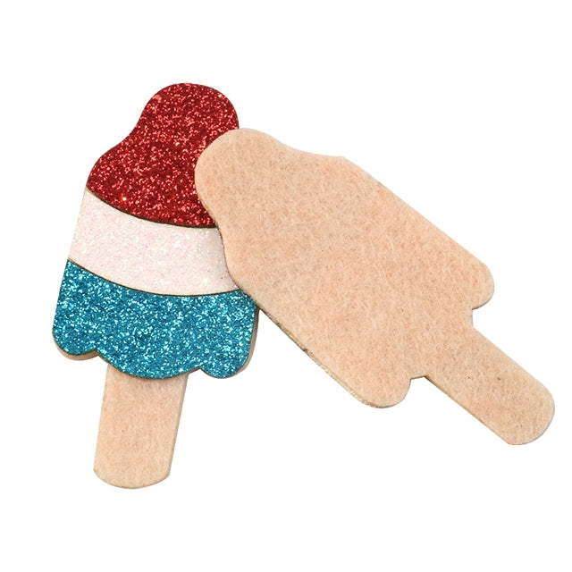Bomb Pop Felt Applique