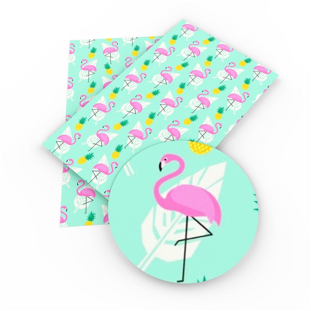 Flamingo and Pineapple Sheet