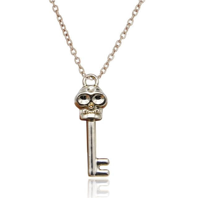 Skeleton Key Charm