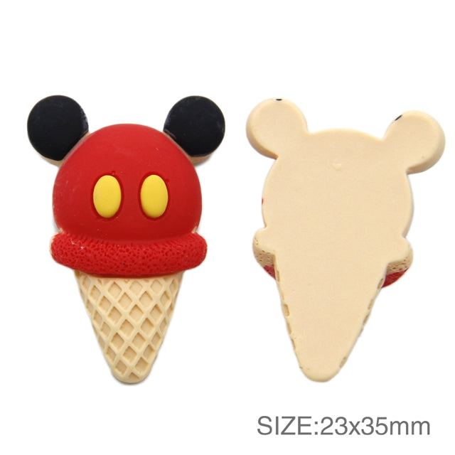 Boy Mouse Ice Cream Cone 3D Resin