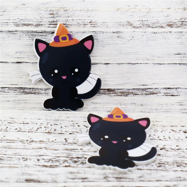 Witch Cat Planar Resin
