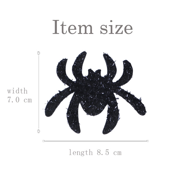 Sparkly Spider Applique