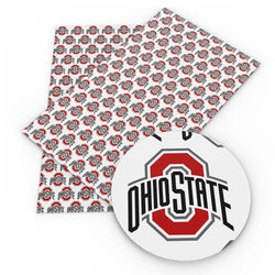 White Ohio State Sheet