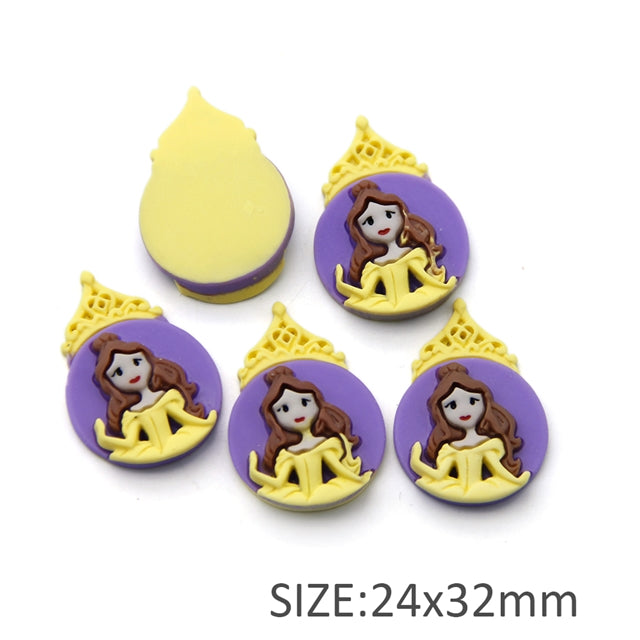 Purple and Yellow Princess 3D Resin