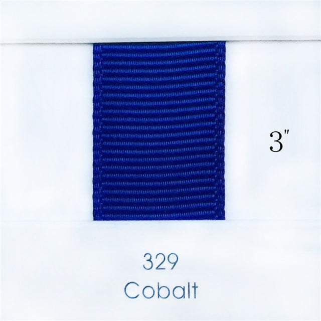 "3"" Solid Cobalt Ribbon"