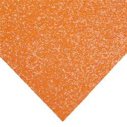Orange Chunky Glitter Sheet