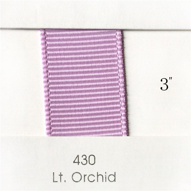 "3"" Solid Light Orchid Ribbon"
