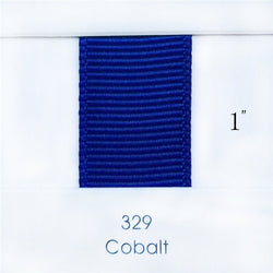 "1"" Solid Cobalt Ribbon"