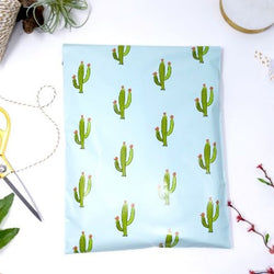 10x13 Cactus Poly Mailers