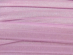 Solid Thistle Purple Fold Over Elastic