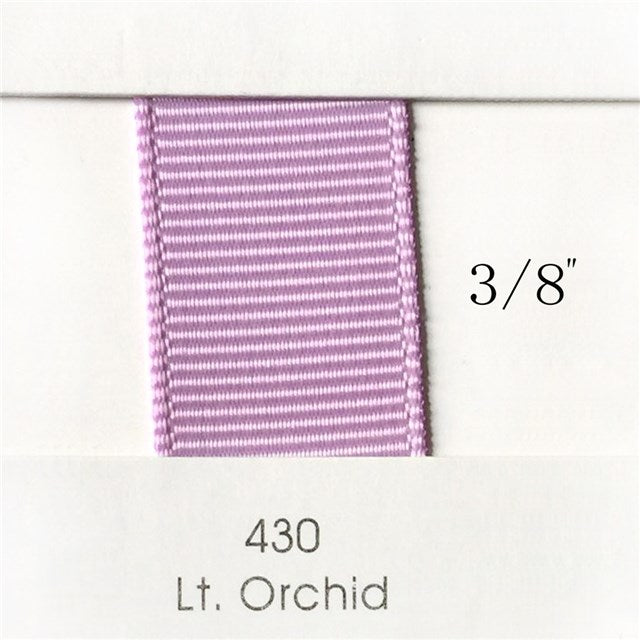 "3/8"" Solid Light Orchid Ribbon"