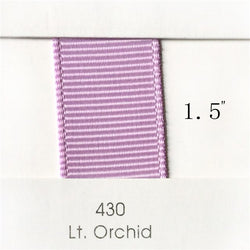 "1.5"" Solid Light Orchid Ribbon"
