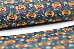 US Designer Halloween Jack-o-Lanterns Sheet