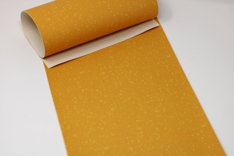 US Designer Sunflower Yellow Faux Sparkle Sheet