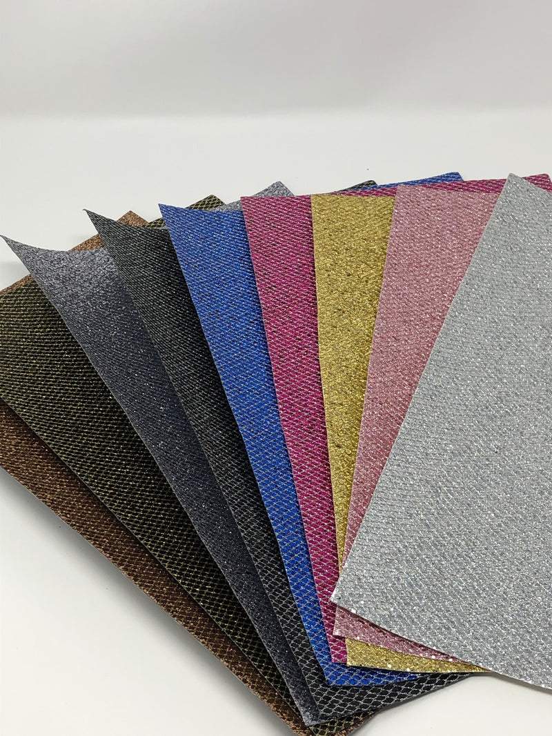 Glitter Net Sheet Pack (9 sheets per pack - 1 of each color)