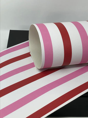 Valentine's Day Stripes Sheet