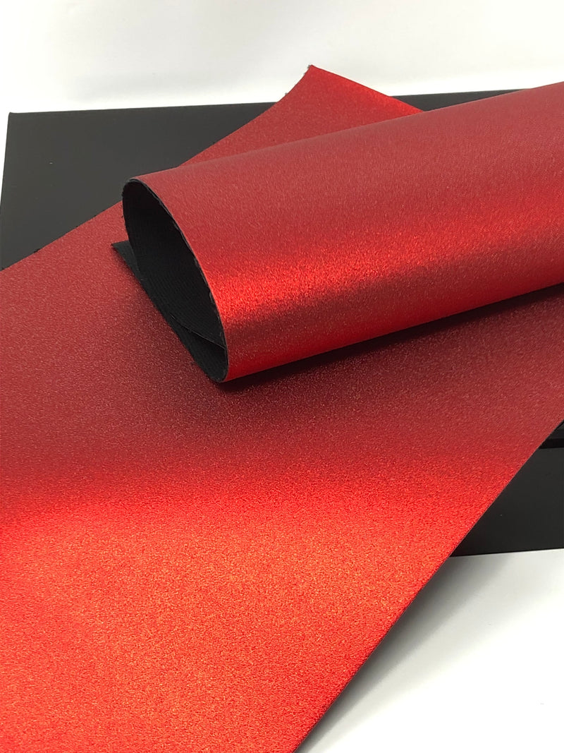 Red Pearlized Metallic Sheet