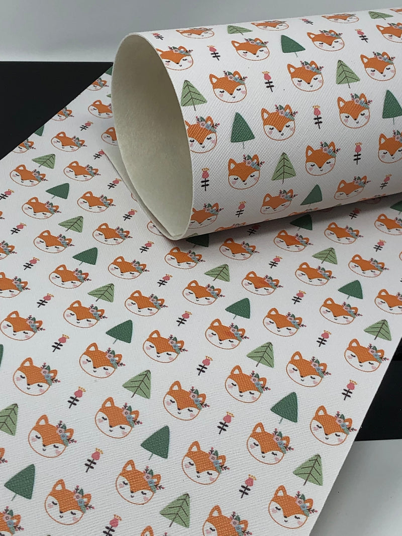 Fox and Tree Sheet