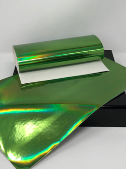 Green Laser Metallic Sheet