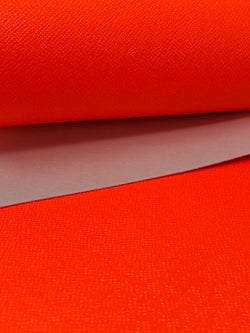 Solid Neon Orange Sheet