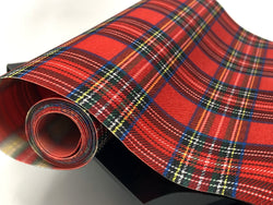 Red Plaid Roll