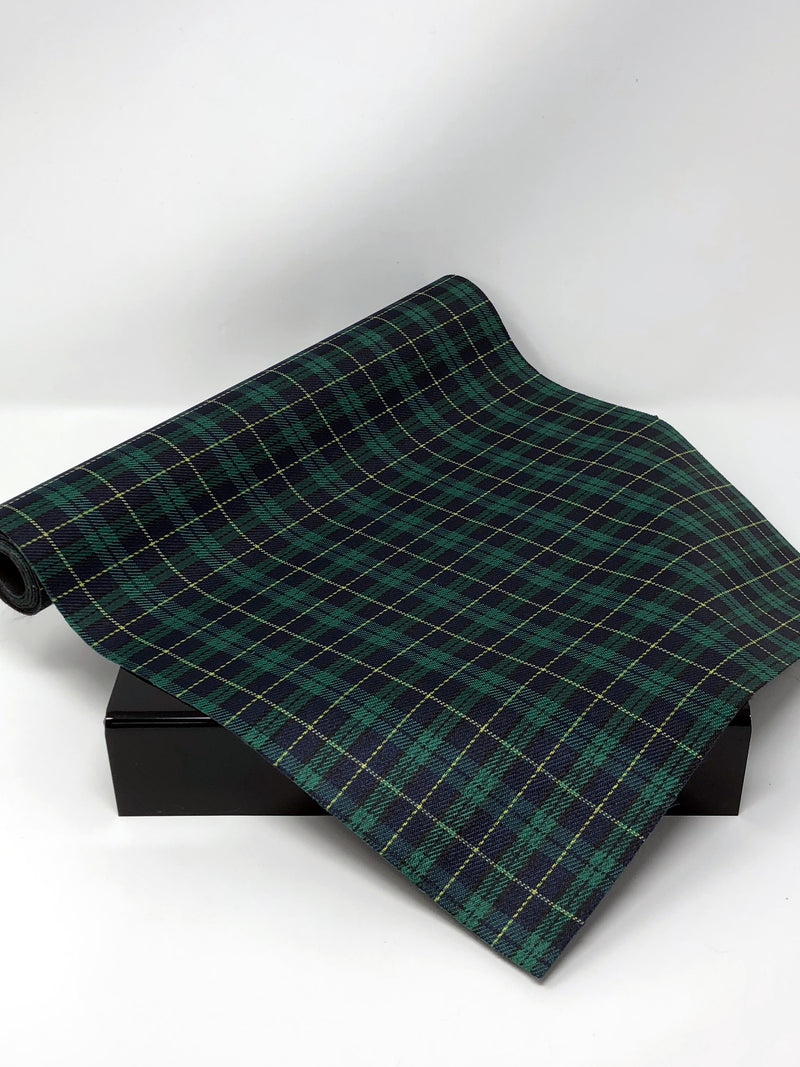 Green Plaid Roll