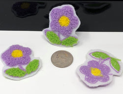 Terry Cloth Flower Patch