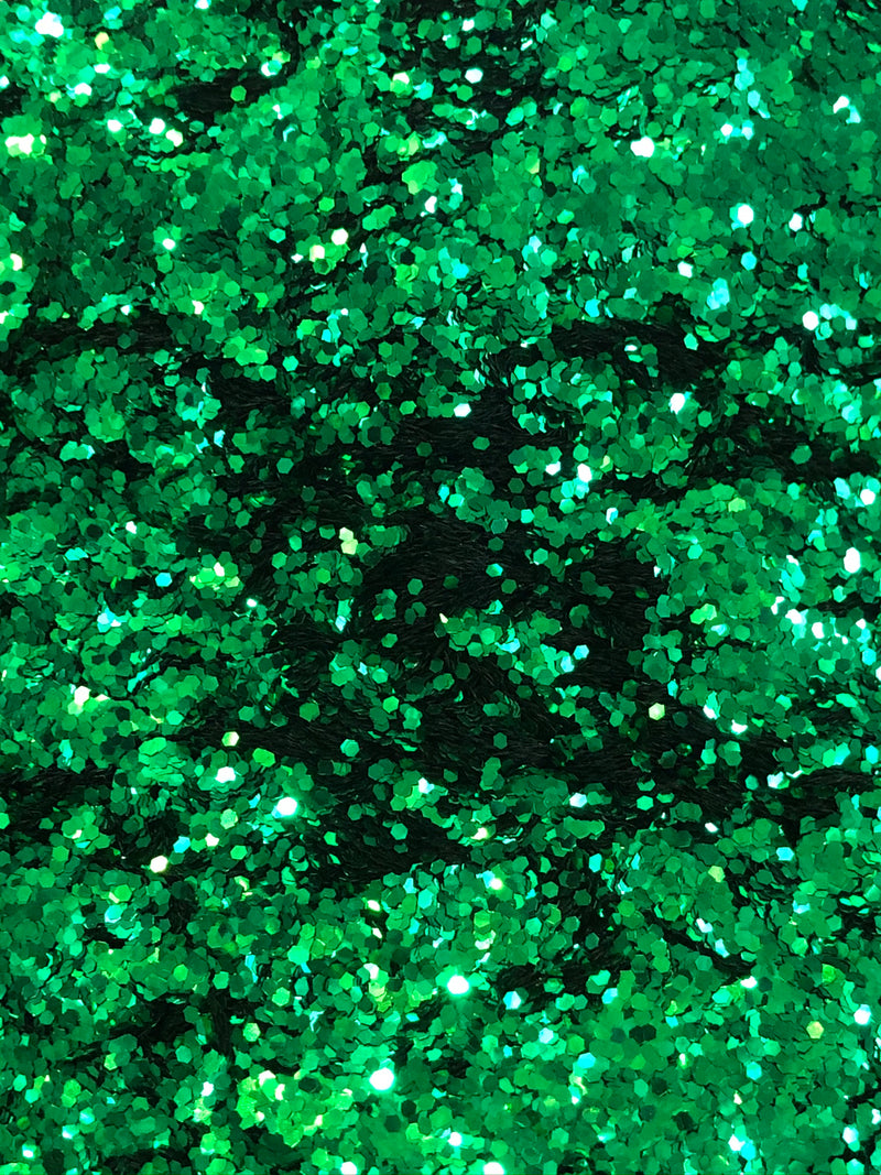 Evergreen Chunky Metallic Glitter 4g jar