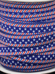 Stars and Stripes Fold Over Elastic