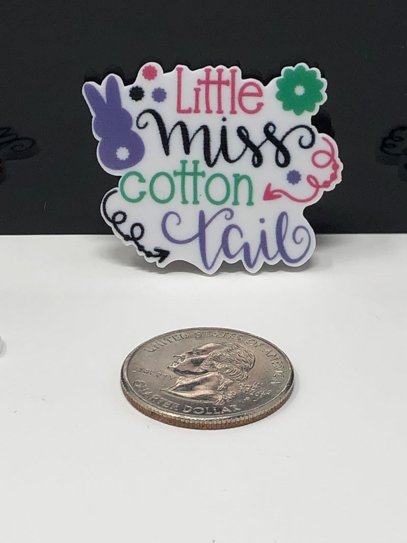 Little Miss Cotton Tail Planar Resin