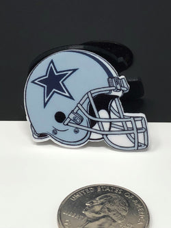 Cowboys Helmet Planar Resin