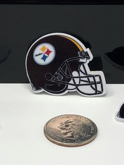 Steelers Helmet Planar Resin