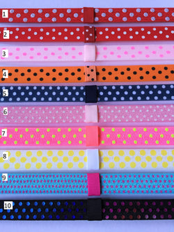 Polka Dot Interchangeable Headband