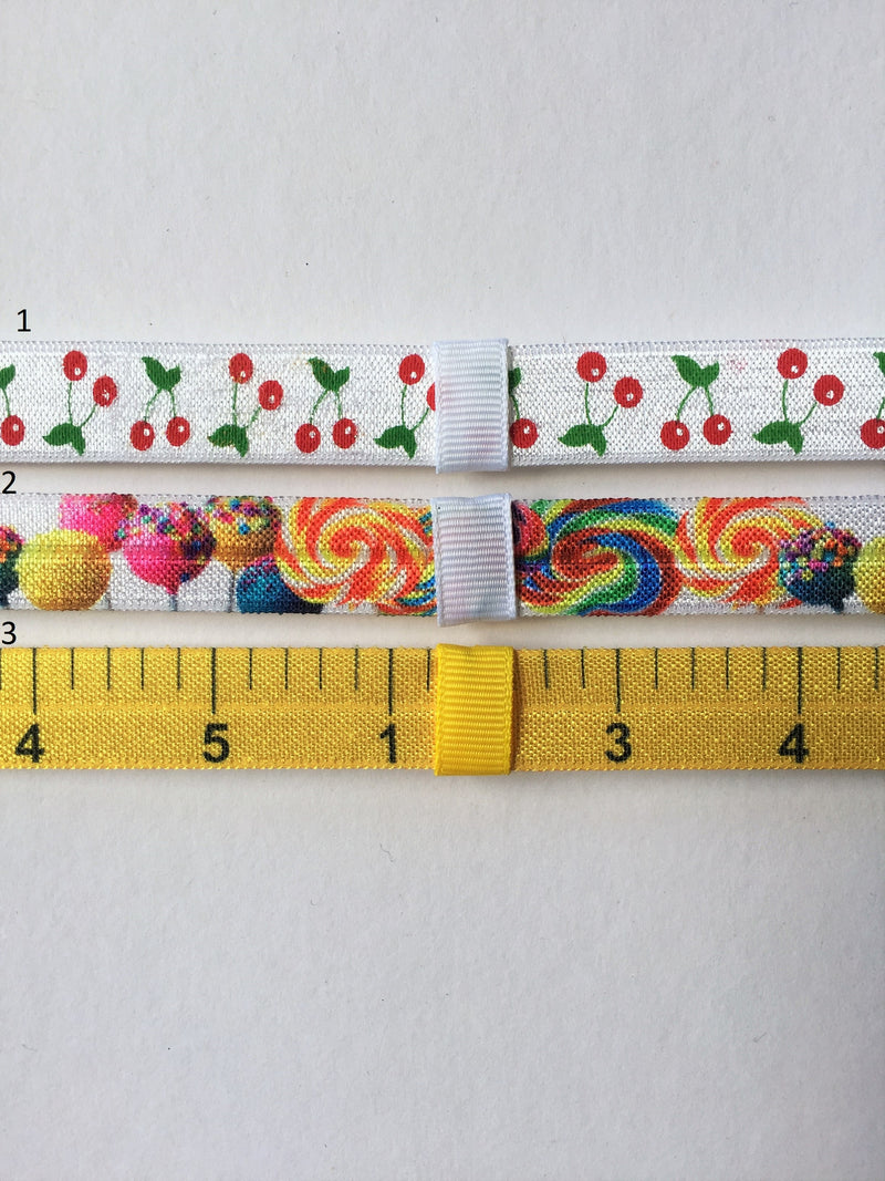 Cherries, Candy, Ruler Interchangeable Headband