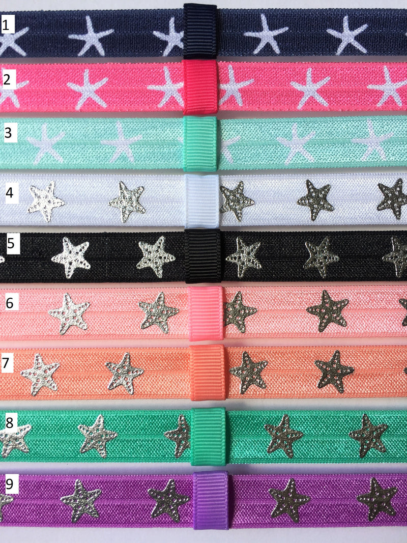 Starfish Interchangeable Headband