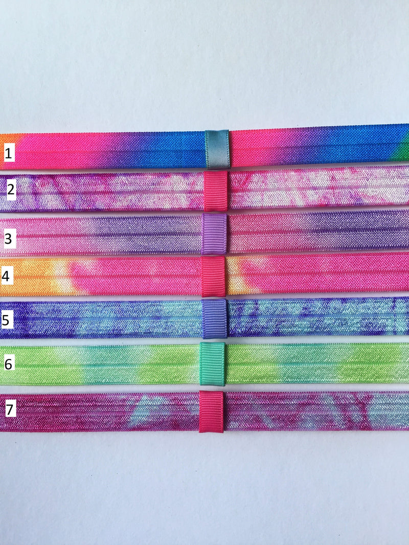 Tie Dye Interchangeable Headband