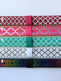 Quatrefoil Interchangeable Headband