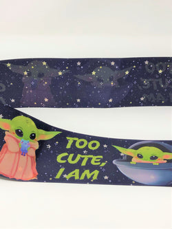 "3"" USDR Too Cute, I Am Double Sided Ribbon"