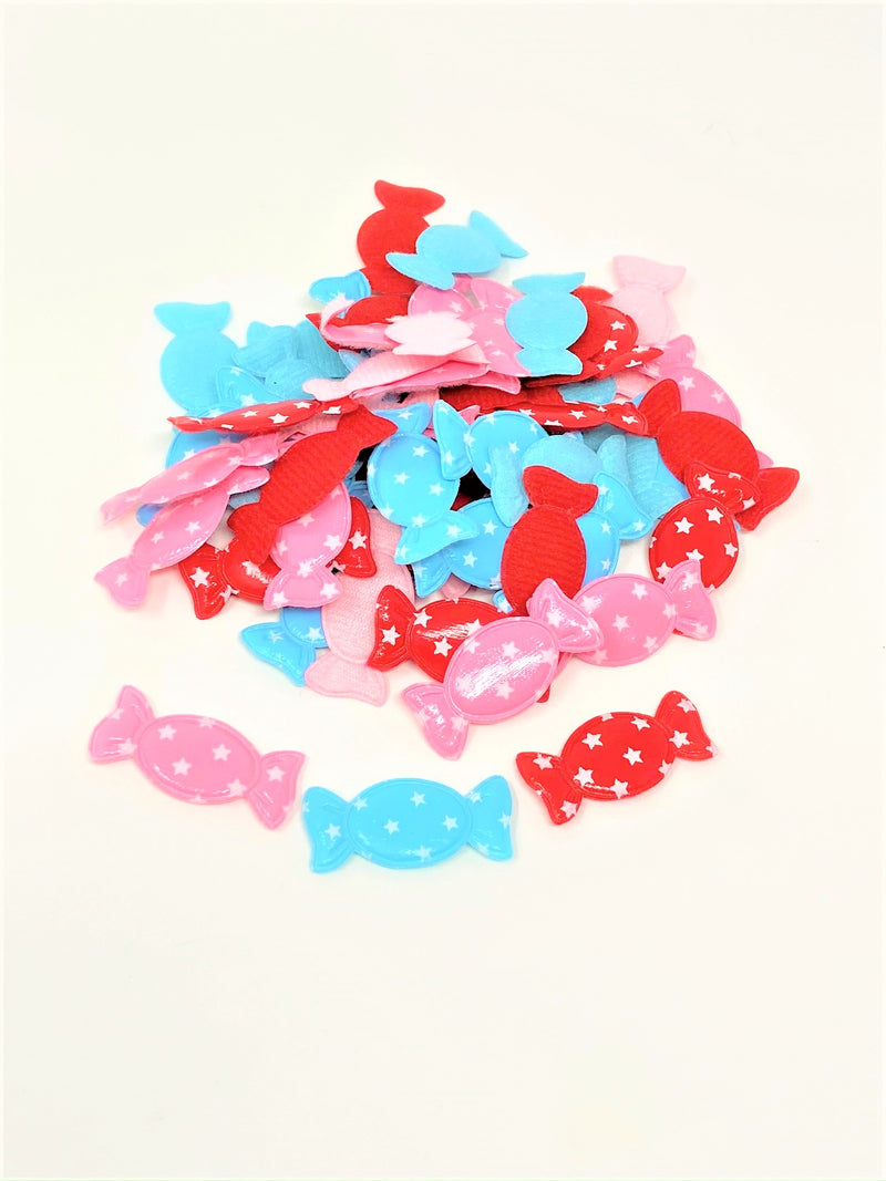 PVC Candy Padded Applique