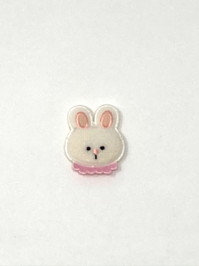 Bunny Iron-On Padded Patch