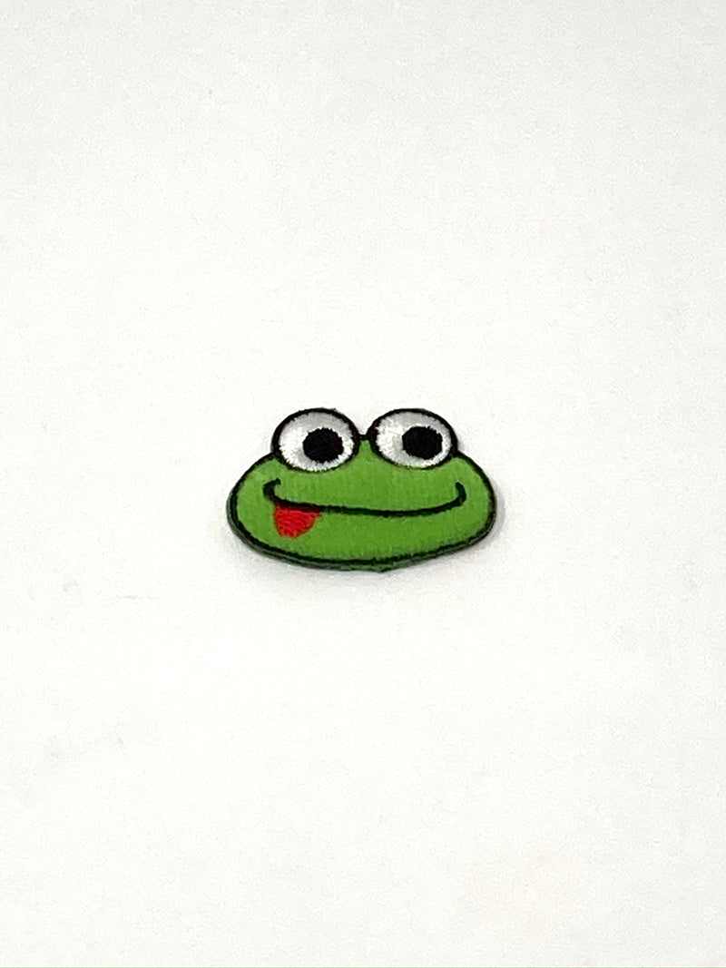 Frog Iron-On Padded Patch