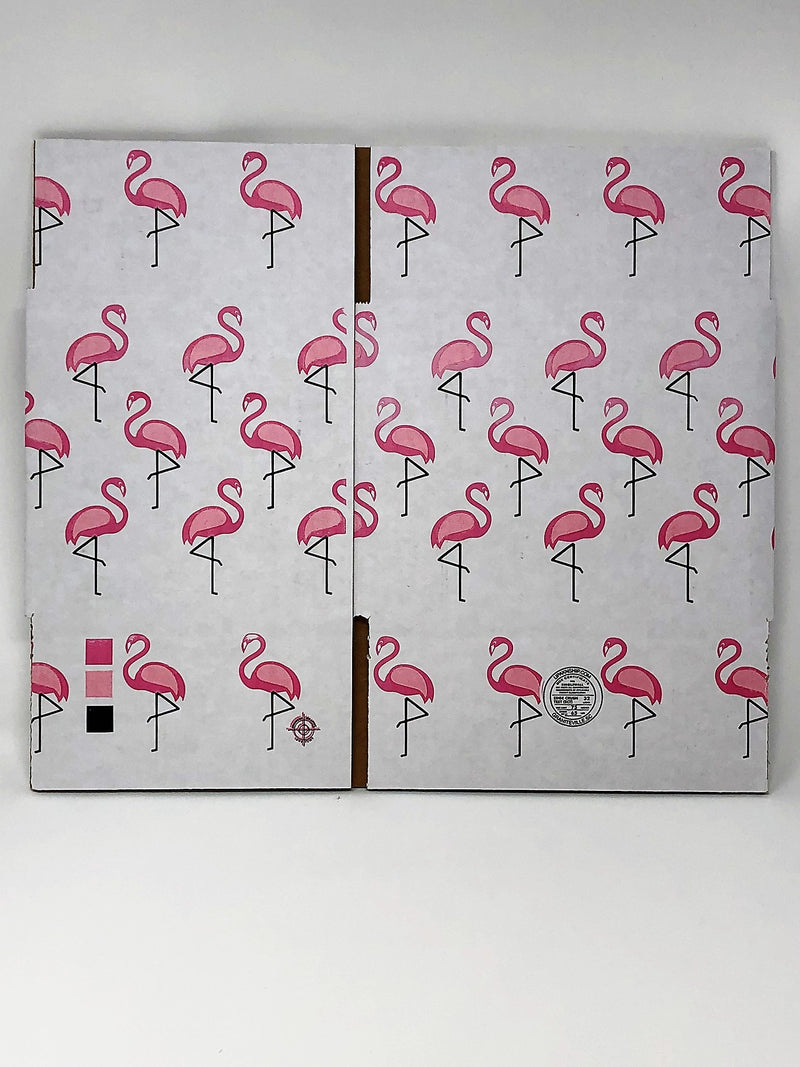 "8"" x 6"" x 6"" Flamingo Box"
